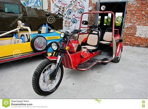 Podol, Ukraine  May 19, 2016 Handmade Vintage Retro