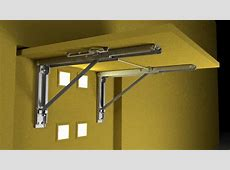 Wall Mounted Folding Brackets by Eureka MFG YouTube