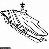 Carrier Aircraft Coloring Battleship Pages Navy Drawing Military Uss Getdrawings Printable Iowa Getcolorings Colorings sketch template