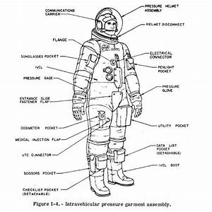 Space Suit Parts Including the Protective Gloves for the ...