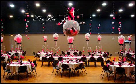 deco de fete decoration de salle de mariage avec ballon