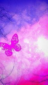 Pink purple butterfly | wallpaper | Pinterest | Wallpaper ...