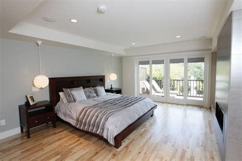 master suite build  master bedroom patio doors deck contemporary bedroom san