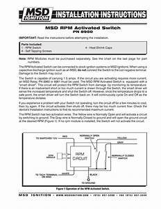 Msd 8950 Rpm Switch Installation Instructions