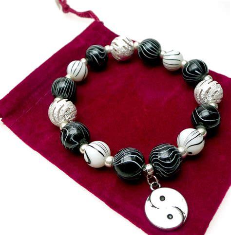 yin   bracelet beaded zen buddhism jewelry yin