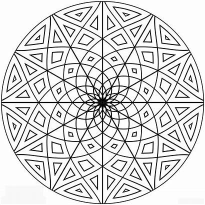 Geometric Coloring Pages Printable