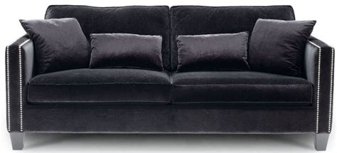 black velvet couch interiors  color