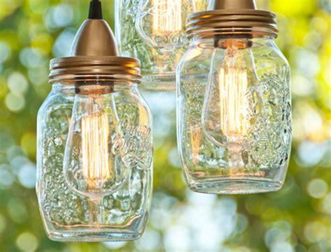 diy jar hanging pendant lights