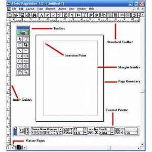 Adobe Tutorial On Pagemaker Basics  The Workspace  Toolbox  Rulers  U0026 Guides