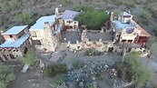 Mystery Castle Phoenix Arizona Drone view - YouTube