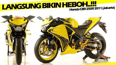 Cbr 250r Modification by New Honda Cbr 250 Modification Oto Moto