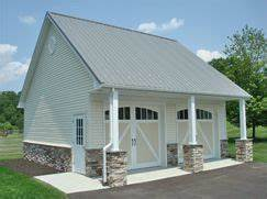 42 best images about pole barn on pinterest dark gray With 4 car pole barn