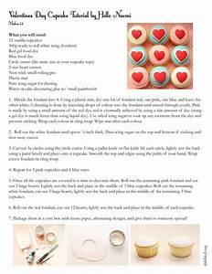 Top Cupcakes With Fondant  Valentine U2019s Version