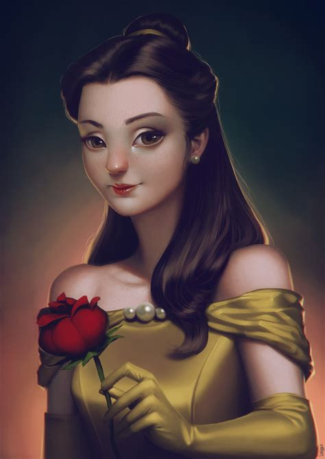 belle beauty and the beast rose