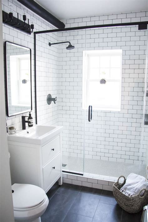 bathroom photos ideas a modern meets traditional black and white bathroom