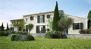 Un Mas En Provence : infographie 3d d 39 un mas proven al eygalli res vincent ~ Farleysfitness.com Idées de Décoration