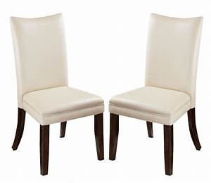 Charrell Upholstered Side Chair In Ivory  Set Of 2  By