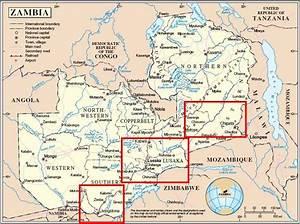 Maps: Map Zambia