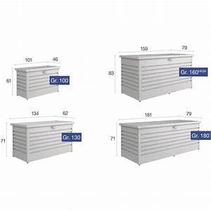 Biohort Freizeitbox 180 : biohort freizeitbox 800 liter 1810 790 710 mm quarzgrau metallic ~ Watch28wear.com Haus und Dekorationen