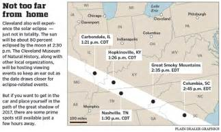 Solar Eclipse 2017 Map