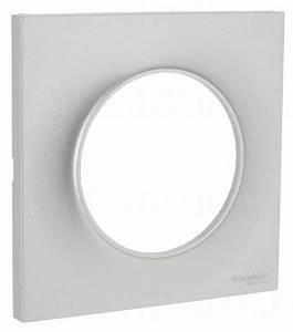 Plaque Schneider Odace : plaque schneider electric odace styl 1 poste alu 2 70 ~ Dallasstarsshop.com Idées de Décoration