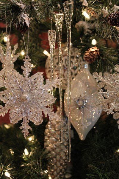 Tree Decorations Icicles - glass icicles trees transform with brilliant