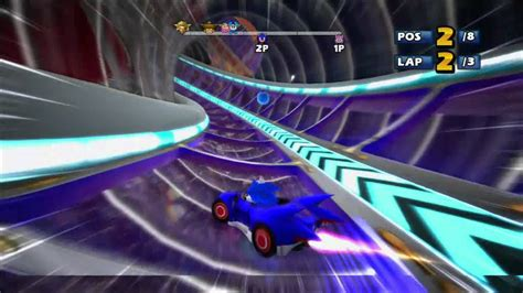 Sonic And Sega All Stars Racing Pinball Highway Xbox Live Match 1080 Hd Youtube
