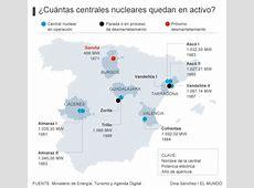 ¿Cuántas centrales nucleares quedan en España y dónde