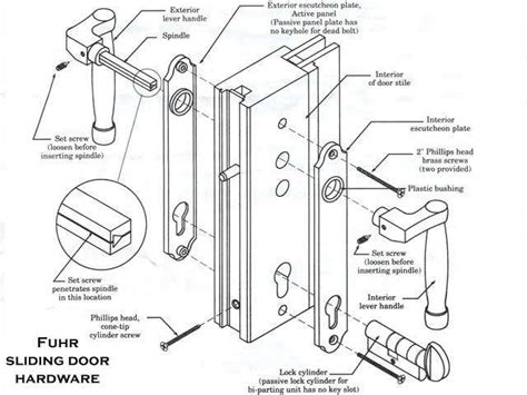 patio door lock parts modern patio outdoor