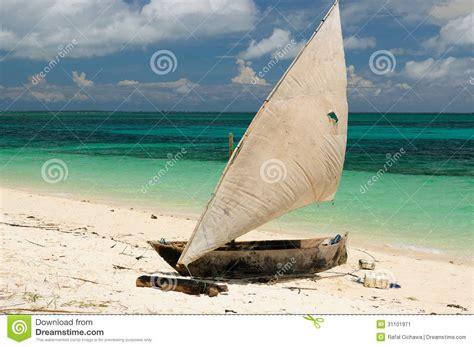 Traditional Fishing Boat Zanzibar by Tanzania Zanzibar Stock Image Image 31101971