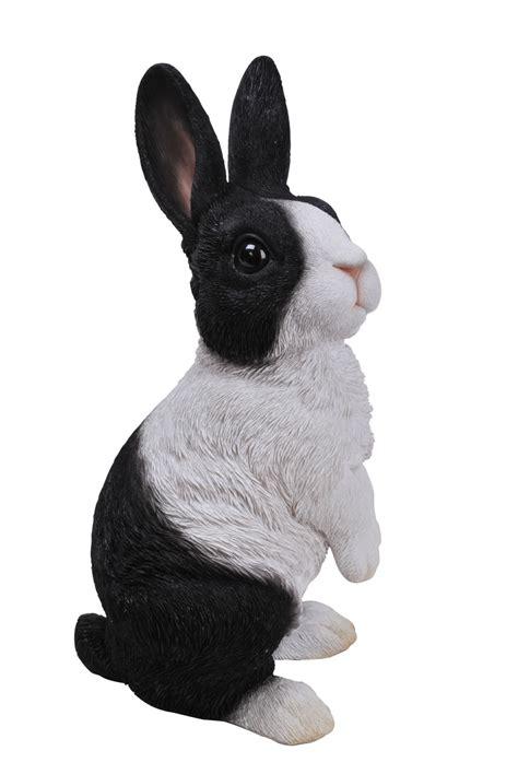 lookout dutch rabbit resin garden ornament