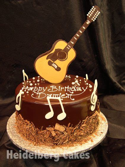 musical instruments  musical notes heidelberg cakes