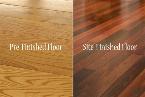 Pre finished vs. Site finished Wood Floors: the Good, the