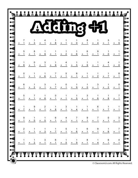 adding  math worksheet woo jr kids activities