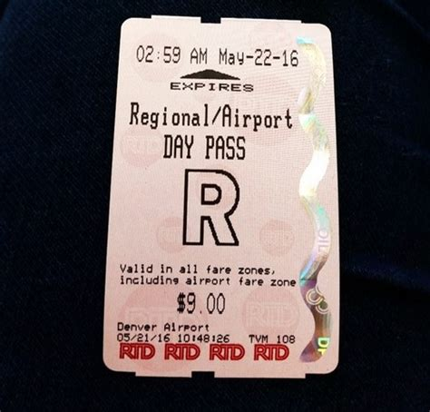 In Denver You Can Now Take A Train From The Airport To