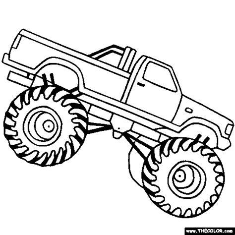 monster truck videos for kids online design your own monster truck color pages monster truck