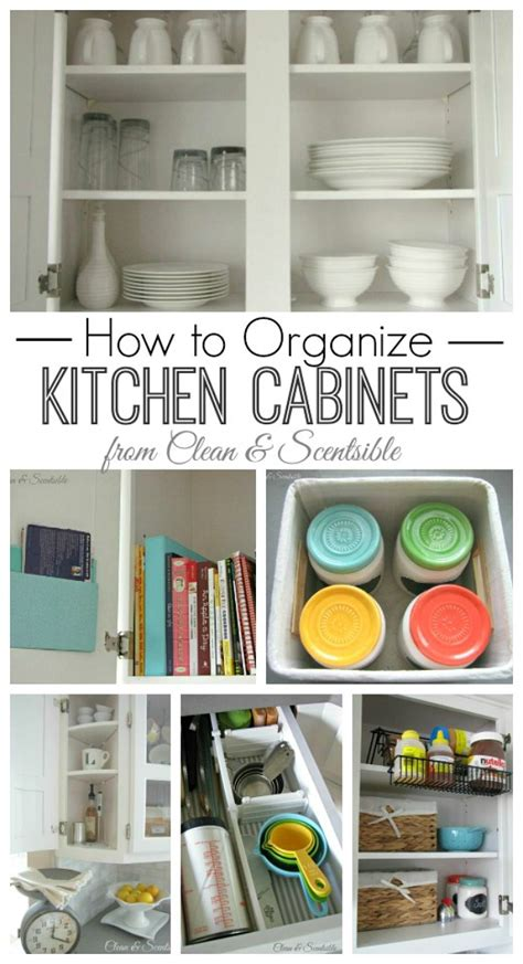 ideas for organizing kitchen cabinets clean and organize the kitchen february hod printables