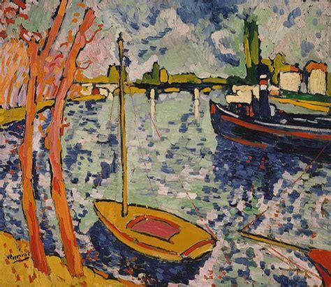 Tugboat On The Seine Chatou by History 101 서양미술사52 야수파 모리스 블라맹크 앙드레 드랭