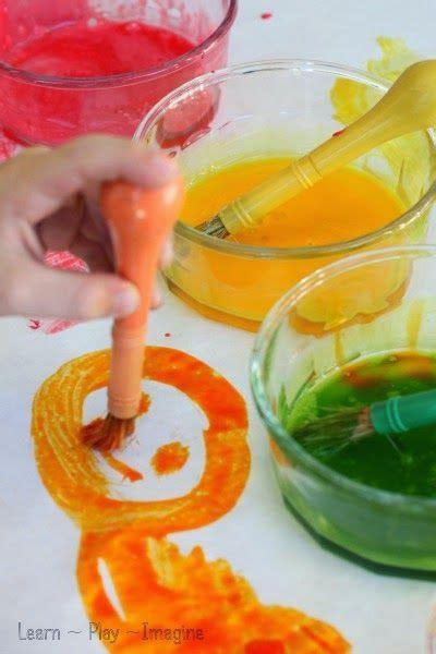homemade tempera paint recipe arts  crafts  kids