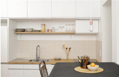 cuisine integre appartement traversant i naudin seevagen architecture