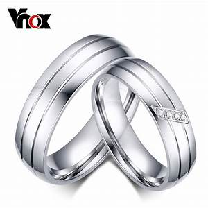 Fashion wedding rings stainless steel ring female male for Wedding rings for male and female