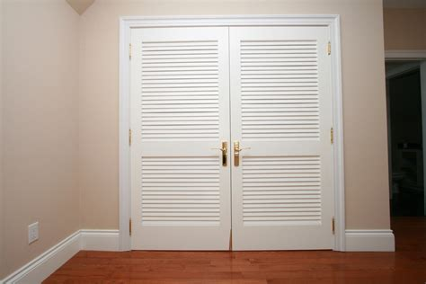 double louvered closet doors unique  modern designed