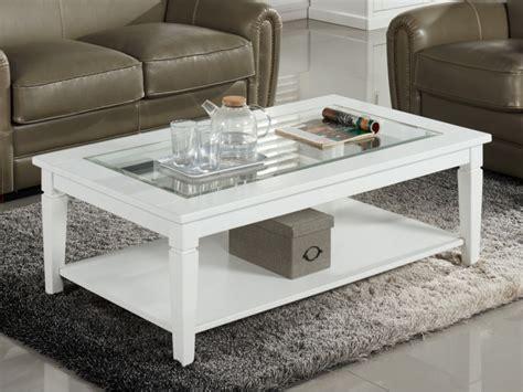 mobilier de bureau jpg table basse guerande plateau en verre trempé pin blanc