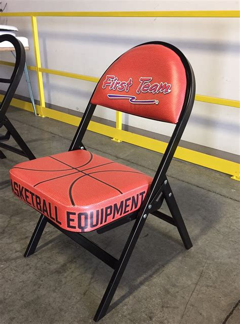 custom printed folding chair   team sports