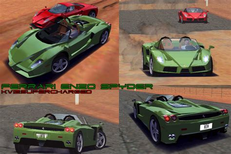 Enzo Spyder by Need For Speed High Stakes Enzo Spyder Nfscars