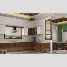 Dining, Kitchen, Living Room Interior Designs  Kerala