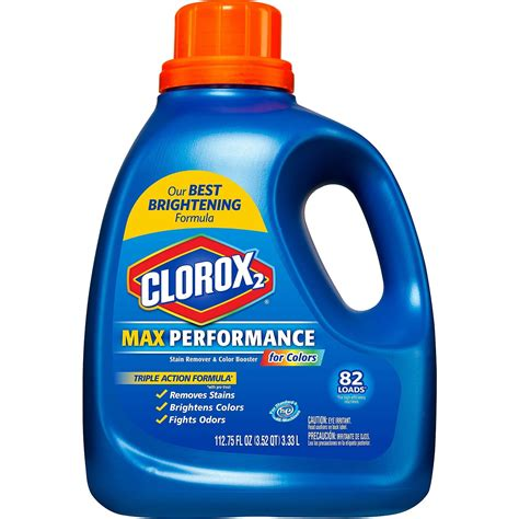 best detergent for colored clothes clorox 2 max performance for colors laundry detergent 112 7675