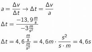 Physik Beschleunigung Berechnen : beschleunigung bungen bewegungsgesetze teil 1 physik alpha lernen ~ Themetempest.com Abrechnung