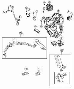 Chrysler Pacifica Module  Export  Power  Blower Motor