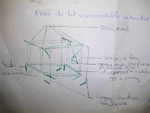 Lit Escamotable Plafond : plan lit relevable au plafond ~ Premium-room.com Idées de Décoration